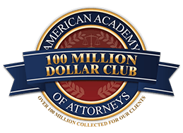 Accolade: American Academy of Attorneys - 100 Million Dollar Club