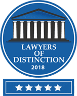 Accolade: Lawyers of Distinction 2018